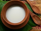 How to make coconut milk at home | Homemade coconut milk recipe |Step wise Pictures