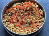 Karamani Kosumalli | Lobia Kosumalli | Black Eyed Peas Salad | Gluten Free and Vegan Recipe