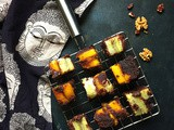 Mango Banana Chocolate Walnut Brownies | Eggless Brownie Recipe