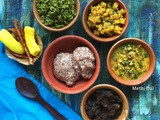 Menthi Kura Pappu | Fenugreek leaves Dal | Methi Dal | Gluten Free and Vegan Recipe