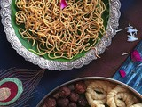 Omapodi | Gram Flour Fried Noodles flavoured with Carom Seeds | Traditional Deepavali Special Recipes by Masterchefmom