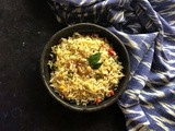 Pongal Fried Rice | Vegetable Fried Rice With Traditional Flavours | Tiffin Box Ideas