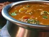Quick Sambar | Pasipayaru Sambar | Moong Dal Sambar | Gluten Free and Vegan Recipe