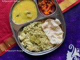Ridge Gourd Special Thali | Indian Thali Ideas By Masterchefmom #010 | Gluten Free and Vegan Meal