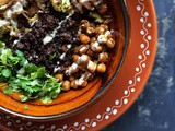 Roasted Cauliflower and Finger Millet Salad with Tahini Dressing | Roasted Cauliflower and Ragi Aval Salad Recipe