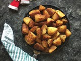 Roasted Potatoes | Perfect Christmas Roasted Potatoes | Potato Fry | Christmas Recipes by Masterchefmom