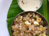 Sabudana Khichdi | How to make Sabudana Khichdi at Home | Tips and Tricks to Make Delicious Sabudana Khichdi | Stepwise Pictures | Gluten free and Vegan Recipe