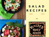 Salad Recipes | Salad Recipes by Masterchefmom