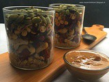 Trail Mix | Salad In a Jar |How to make Trail Mix Salad at Home | Office Lunch Ideas | Gluten Free Recipe | Vegan Recipe