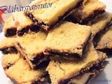 Blåbärspajsrutor/ Blueberry pie bars