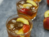 Delicious Peach Iced Tea