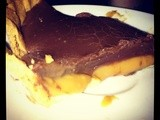Cheats Caramel and Chocolate Ganache Tart