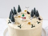 Gingerbread Birthday Cake with Mascarpone Frosting