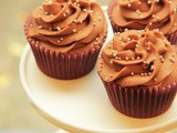 Heavenly Double Chocolate Cupcakes