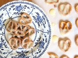 Homemade white chocolate fudge pretzels/Flipz
