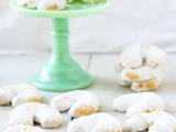 Kurabiya Crescents {Almond Shortbread}