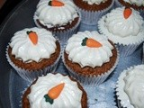 Miette Carrot Cupcakes