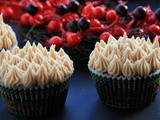 Spiced Chocolate Cupcakes with Gingerbread Buttercream