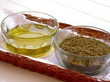 "Friday Feast: Thyme & Olive Oil or ""Zait and Zaatar"""