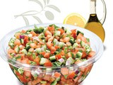 Jerusalem Salad Recipe—Tomato Salad
