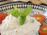 "Spicy Yogurt Dip ""Labneh with walnuts and more"""