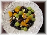 Black and White Grape Salad