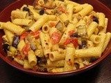 Rigatoni with Roasted Veggies