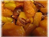Roasted Maple Pecan Butternut Squash