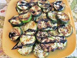 Simple Grilled Zucchini with Balsamic Glaze