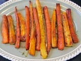 Spiced Parsnips  and Carrots