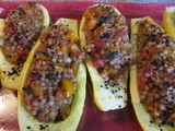 Stuffed Summer Squash with Middle Eastern Spices