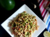Avocado Pesto Pasta - a healthy and easy to make delicious Pasta