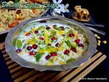 Boondi Fruits Raita - a refreshing delight that enhances any Biryani | Pilaf