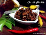 Karela Pickle - a mouthwatering accompaniment to add taste to any meal