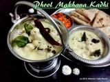 Phool Makhana Kadhi - a heavenly delight made with Lotus Seeds in a perfectly spiced yogurt and chick pea flour curry