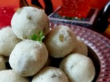 Sabudana Ladoo - an easy to make delightful sweet made with Tapioca Pearls! Navratri | Fast Special