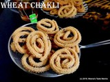 Wheat Chakli - a crunchy munchy Tea time Snack