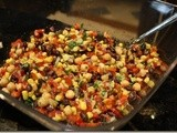 137.6…Black Bean, Chickpea and Corn Salad
