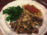 142.8...Chicken Marsala on the Lighter Side