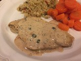 143.4...Chicken Breasts in Caper-Cream Sauce