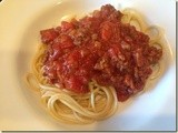 143.6…Spaghetti with Meat Sauce