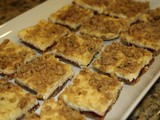143.8...Raspberry Cheesecake Bars