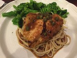 144.4...Charred Lemon Chicken Piccata