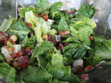 145.8...Chopped Salad with Garlic Oregano Vinaigrette