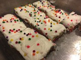 146.6...Birthday Cake Bars