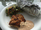 146.8...Blackened Chicken Breasts with Cajun Tartar Sauce