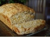 Cheddar Beer Bread-St. Patrick's Day Blog Hop