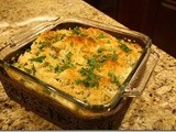 Fontina and Mascarpone Baked Pasta (Holiday Blog Hop)