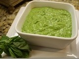 Spinach Basil Pesto – Holiday Recipe Club