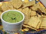 Quick Guacamole (in the food processor)